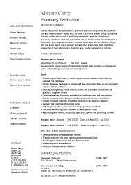 Resume Objective Pharmacy Technician Community Pharmacist Resume Objective Eliolera Com