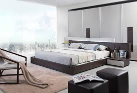 Modern Bed Frame With Storage Modrest Gamma Contemporary Brown Oak Bed With Storage Platform