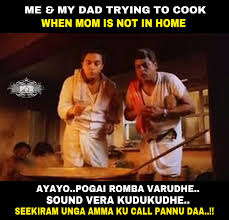 Cooking Meme - meme 150 cooking in mom s absence pvr memes