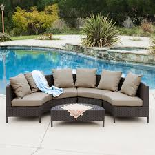Best Wicker Patio Furniture - shop best selling home decor newton 5 piece wicker patio