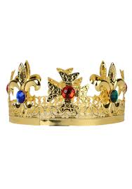 mardi gras crowns metal king s crown