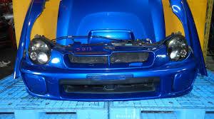 subaru impreza wrx jdm jdm subaru impreza wrx front end conversion headlight hood bumper
