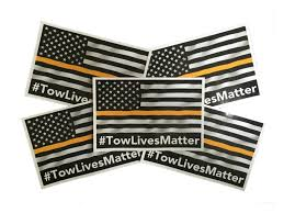 Flag It Stickers Tow Lives Matter Flag Decal Bumper Sticker U2013 Guard Rail Angels
