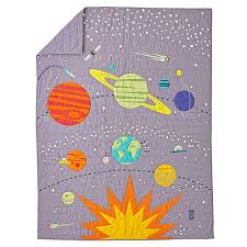 Space Bedding Twin Astronaut U0026 Space Quilt Full Queen The Land Of Nod