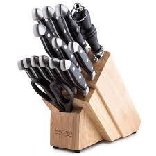 german high carbon stainless steel 15 piece professional knife set