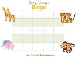 baby shower gift bingo my practical baby shower guide
