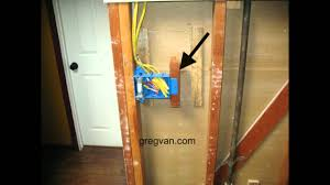 3 gang electrical box backing home building tips youtube