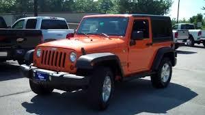 jeep wrangler orange crush 2012 jeep wrangler sport crush 8696 used car dealers in maine