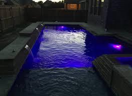 lighting landscape lighting wonderful nicheless led pool light