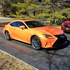 lexus rc awd lease trade 2015 lexus rc350 f sport awd rare mp orange 498