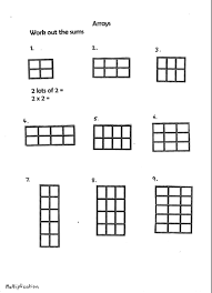 arrays multiplication by ro milli0110 teaching resources tes