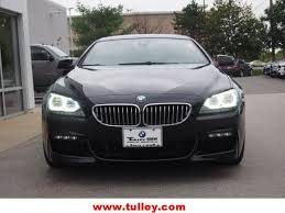 pre owned 6 series bmw certified used 2014 bmw 6 series gran coupe 650i black sapphire