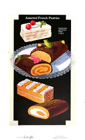 assorted french pastries in cakes and pastries by cleve carney