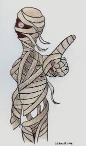 halloween mummy by chibi22 on deviantart