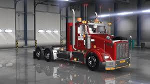 kenworth t800 truck kenworth t800 colombia truck ats mod american truck simulator mod