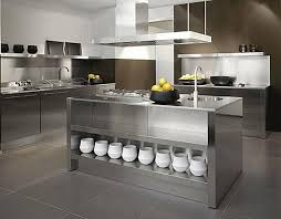 stainless steel kitchen island stainless steel kitchen beautify your kitchen island fresh