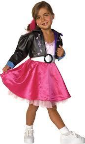 Rock Roll Halloween Costumes Jukebox Jill 1950s Rock Roll Child Costumes Jukebox Jill 1950s