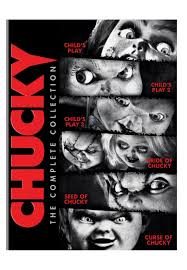 amazon com chucky the complete collection limited edition