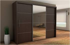 Closet Doors Uk Inova Sliding Door Wardrobe Wenge Brown 250cm By Furniture