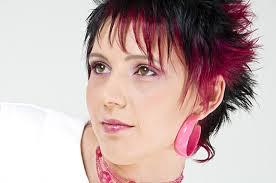Kurzhaarfrisuren Rot by Kurzhaarfrisur Schwarz Pink 3 Frisuren Im Frisurenkatalog