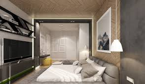 Creative Bedrooms With Artwork And Diverse Textures - Creative bedroom designs