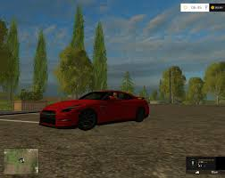 Nissan Gtr Black Edition - fs15 nissan gtr black edition v1 farming simulator 2017 2015