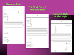 Document 2 Block Style Business Letter Practice Business Corespondent Ppt