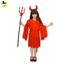 Kids Halloween Devil Costumes Aliexpress Buy 2017 Fashion Quality Halloween Costumes