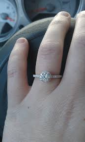 size 6 engagement ring shane company halo engagement ring size 6 5 carat center