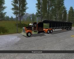 2017 kenworth w900 fs17 kenworth w900 lft v1 0 farming simulator 2017 2015 15
