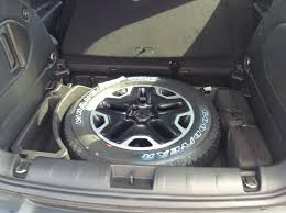 Dodge Challenger Tire Size - spare tire questions comments info thread jeep renegade forum