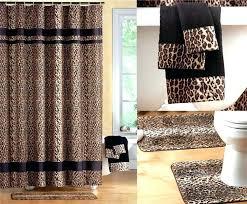 Leopard Bathroom Rugs Animal Print Bath Accessories Photogiraffe Me