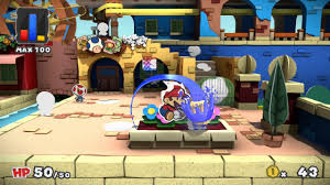 Paper Mario World Map by Paper Mario Color Splash Review