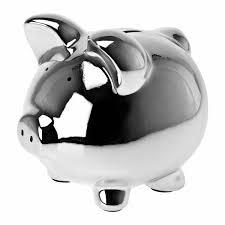 personalized silver piggy bank argento argentum ασήμι silver plata silber 銀 فضة