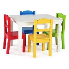 tot tutors samira kids u0027 5 piece rectangular table and chair set