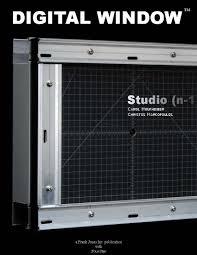 digital window studio n 1 architects digital window
