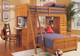 loft bunk beds with desk and storage u2014 all home ideas and decor
