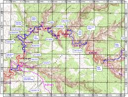 Topographical Map Of New Mexico by Topo Map Of Grand Gulch Primitive Area Utah Anasazi Ruin Map