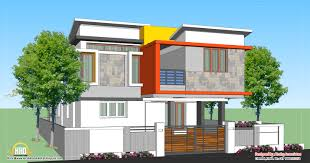 Contemporary House Floor Plans Box Type Modern House Plan Kerala Home Design And Floor Plans