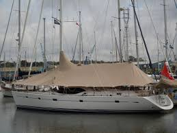 Sailboat Sun Awnings Marine Covers Dolphin Sails