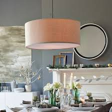 Dining Room Drum Pendant Lighting West Elm Pendant L 149 Also Like The Colors In The Room