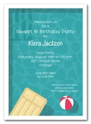 sweet sixteen birthday party invitations 16th birthday sixteenth