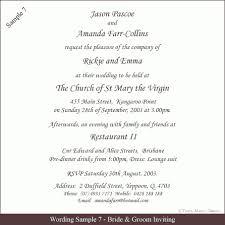 Formal Wedding Invitations Formal Wedding Invitation Wording Christmanista Com