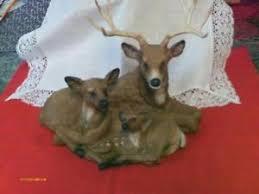 home interiors deer picture home interior figurines ebay