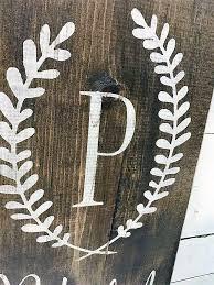 last name monogram wreath monogram script last name est year ella