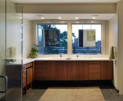 bathroom mirror ideas powder room contemporary with gold faucet