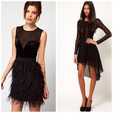 black dress for christmas party