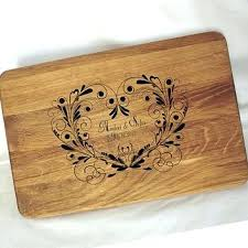 personalized cutting board wedding best personalized wedding cutting boards products on wanelo
