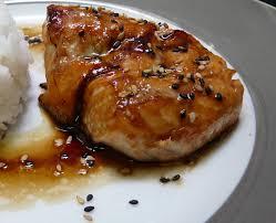 cuisiner pavé saumon pavé de saumon sauce teriyaki aux deux sésames lilizen cuisine