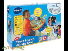 vtech table touch and learn touch and learn activity desk by vtech youtube